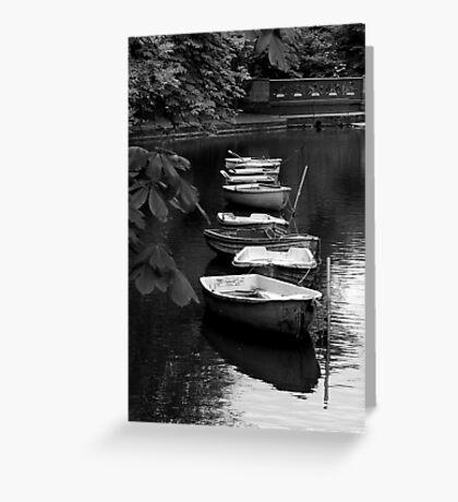 Just boats Greeting Card