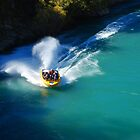River Kawarau.....Queenstown.....March 2011  by Imi Koetz