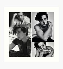 cole sprouse collage  Art Print