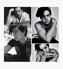 cole sprouse collage  Photographic Print