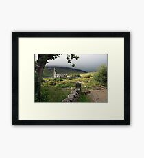 Dunlewey church 2 Framed Print