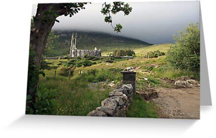 Dunlewey church 2 by John Quinn