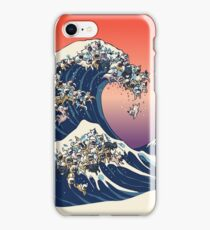 The Great Wave of French Bulldog iPhone Case/Skin