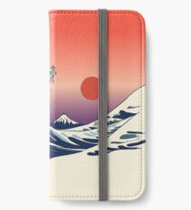 The Great Wave of French Bulldog iPhone Wallet/Case/Skin