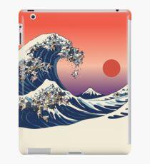 Die große Welle der französischen Bulldogge iPad-Hülle & Klebefolie