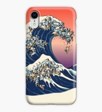 The Great Wave of Pug iPhone XR Case