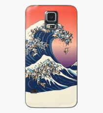 The Great Wave of Pug Case/Skin for Samsung Galaxy