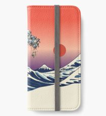 The Great Wave of Pug iPhone Wallet/Case/Skin