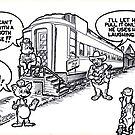 Railway Dental Car by John W. Cullen