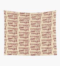 Romani ite Domum Wall Tapestry