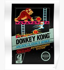 DONKEY KONG CLASSIC GAME Poster