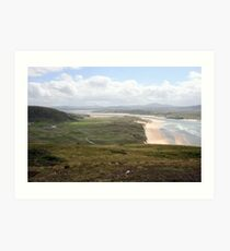Donegal countryside, donegal Art Print