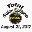 Vintage Total Solar Eclipse by Rajee