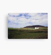 Donegal church Canvas Print