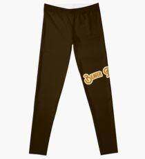 Beaver Fan Club - Brown & Gold Version Leggings