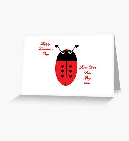 Love Bug (Valentine's Day) Greeting Card