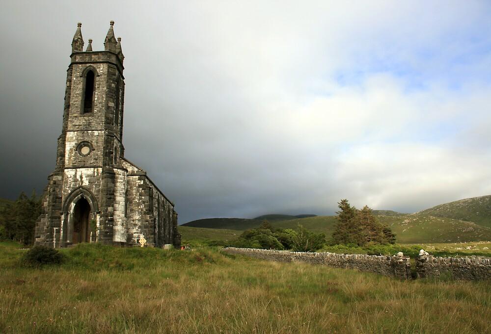 Dunlewey church 3 by John Quinn