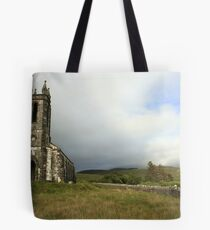 Dunlewey church 3 Tote Bag