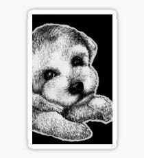 Leucism: Familiaris (Domestic Dog) Sticker