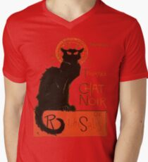 Tournee Du Chat Noir - After Steinlein Men's V-Neck T-Shirt