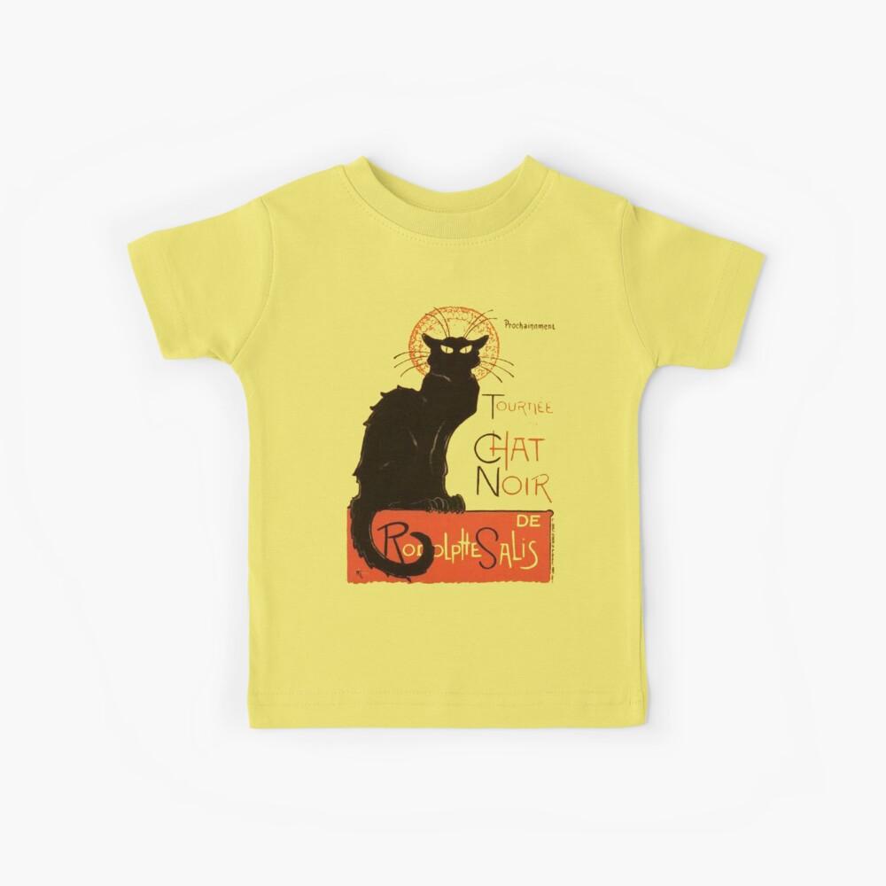 Tournee Du Chat Noir - Nach Steinlein Kinder T-Shirt