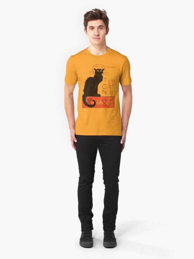 Alternative Ansicht von Tournee Du Chat Noir - Nach Steinlein Slim Fit T-Shirt