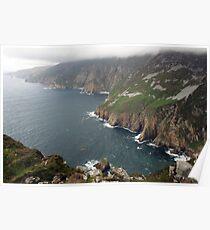 Slieve League cliffs Poster