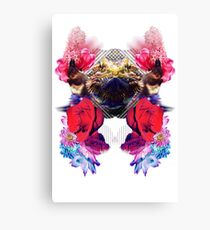 Condescending Bearded Dragon Demolishes Surprised Bartenders While Lost in Space Canvas Print