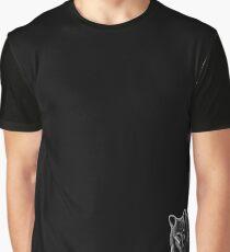 Leucism: Cinereoargenteus (Grey Fox) Graphic T-Shirt