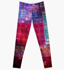 Stardust Periodic Table Leggings