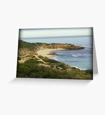 Koonya Beach Greeting Card