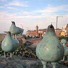 Birds on prom by Maureen Brittain