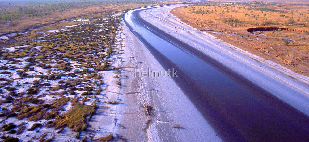 A river somewhere  by helmutk