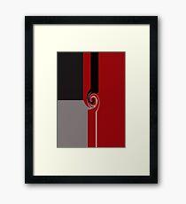 Twirled Framed Print