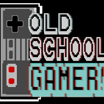 Old School Gamer! by aartliner