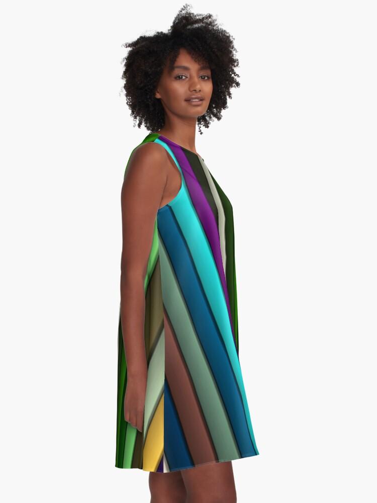 Alternate view of Fashion Art - 183 A-Line Dress