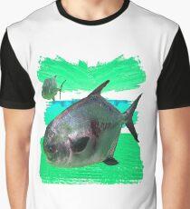 License to Fish Graphic T-Shirt