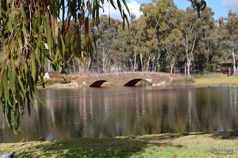 Chinamans dam at Young by geoffgrattan
