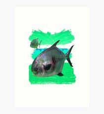 License to Fish Art Print
