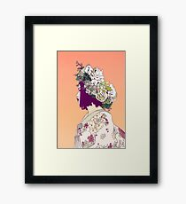 Geisha Under the Sun Framed Print