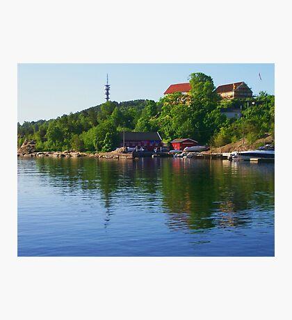 Somewhere in Oslo Photographic Print