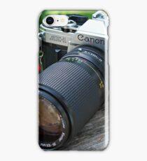 Canon AE-1 & Vivitar Telephoto Lens iPhone Case/Skin