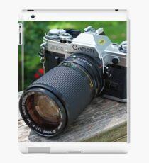 Canon AE-1 & Vivitar Telephoto Lens iPad Case/Skin