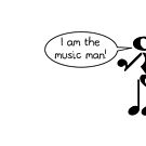 The Music Man - Light Tees by Hannah Sterry