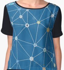 Cryptocurrency Chiffon Top