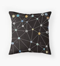 Cryptocurrency Throw Pillow