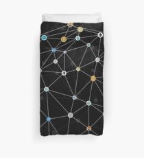 Cryptocurrency Duvet Cover