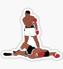 Muhammad Ali Iconic Pose Sticker