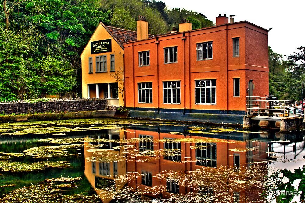 Pond and Pub by GlennB