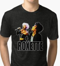 Roxette - 1989 Live on Stage. Stunning desing! Tri-blend T-Shirt